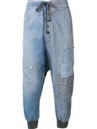 джинсы свободного кроя Greg Lauren