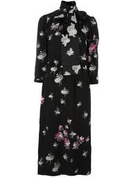 платье миди с цветочным принтом Marc Jacobs