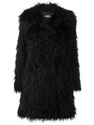 пушистое пальто Jeremy Scott