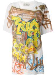 футболка с принтом граффити Faith Connexion