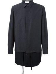 удлиненная многослойная рубашка Ports 1961