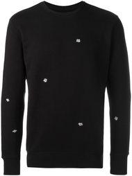 fly print sweatshirt Obey
