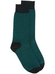 двухцветные носки  John Smedley