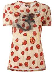 футболка с принтом божьих коровок Vivienne Westwood