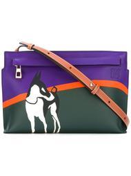 сумка с принтом в виде собаки Loewe