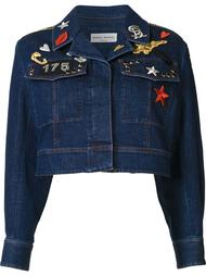 cropped denim jacket Sonia Rykiel