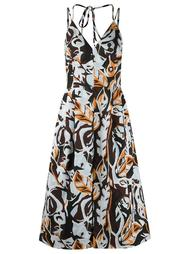 printed midi dress Andrea Marques