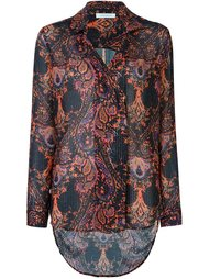 printed embroidered shirt Pierre Balmain