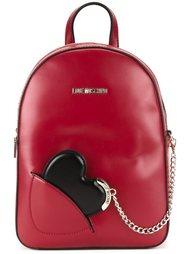 рюкзак с подвеской-сердцем Love Moschino