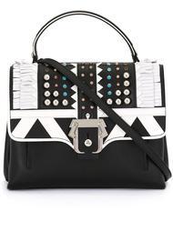 декорированная сумка на плечо с бахромой Paula Cademartori