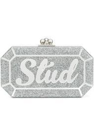 клатч-коробочка 'Fiona Stud' Edie Parker