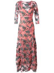 платье макси с цветочным узором For Love And Lemons
