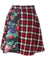юбка с панельным дизайном MSGM