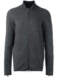 zip-up long sleeve jacket Salvatore Santoro