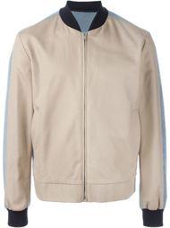 куртка-бомбер колор-блок  MSGM