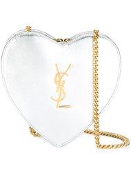 маленькая сумка  'Love Heart' с цепочной лямкой Saint Laurent