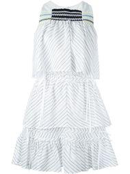 многослойное платье  Peter Pilotto