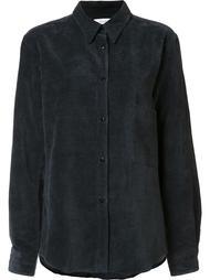 бархатная рубашка Lemaire