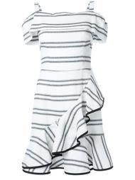 платье мини 'Jupiter' с оборками Rebecca Vallance