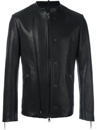 куртка без воротника с двойной застежкой-молнией Tom Rebl