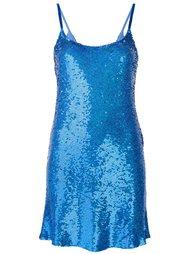 платье с пайетками Ashish