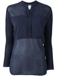 блузка с V-образным вырезом Kristensen Du Nord