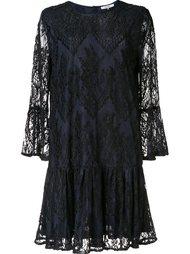 кружевное мини-платье 'Larkin' Ganni