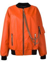 куртка-бомбер с цепочной отделкой Misbhv