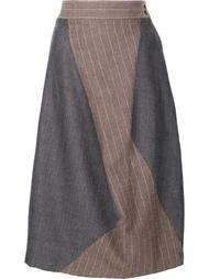 asymmetric pinstripe skirt Vivienne Westwood Red Label