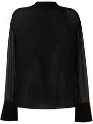 прозрачная блузка Emilio Pucci