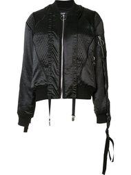 атласная куртка-бомбер Nicopanda