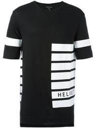 футболка в полоску Helmut Lang
