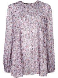 жаккардовая блузка со складками Giambattista Valli