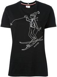 ski print T-shirt Moncler Grenoble