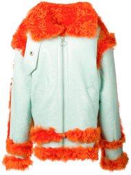 объемная куртка из овчины Marques'almeida