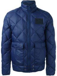 куртка-пуховик с накладными карманами Diesel