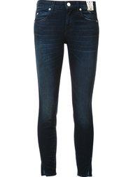 джинсы 'Eclipse' с потертой отделкой Amo