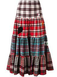длинная юбка в клетку Sold Out Frvr