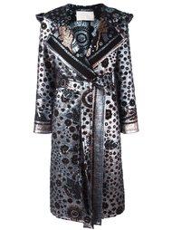 пальто с эффектом металлик  Peter Pilotto
