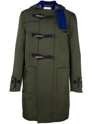 пальто с необработанными краями Sacai