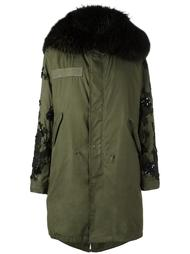 fur lined parka Night Market