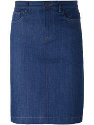 джинсовая юбка 'High Standard'  A.P.C.