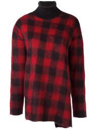 свитер в клетку  Nº21