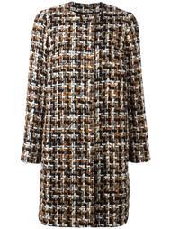 твидовое пальто Dolce & Gabbana