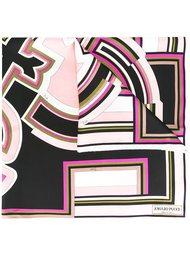 шарф с рисунком Emilio Pucci
