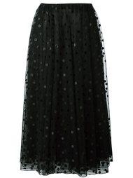 юбка А-образного силуэта из тюля Giamba