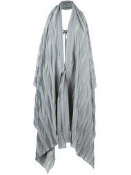 tied sleeveless coat Masnada