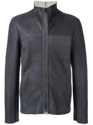 funnel neck zip jacket Salvatore Santoro