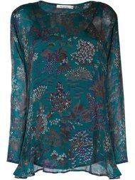 блузка с цветочным принтом Mes Demoiselles