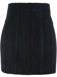 юбка-карандаш с простроченной отделкой Balmain